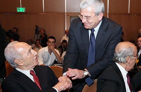 אלי יונס שמעון פרס כנס סי אף או שנתי CFO, צילום: עמית שעל