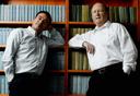יהושע רזניק (מימין) וז'ק חן (צילום: רמי זרנגר), צילום:: רמי זרנגר
