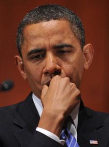 """אובמה. """"הרפובליקנים לא יאשרו צעדים שעשויים לעזור לו"""""""