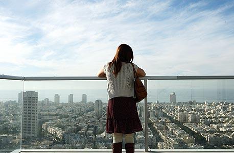 מבט ממרפסת הפנטהאוז