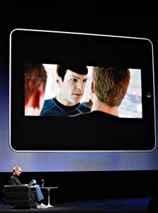 תצוגת סרטים על גבי ה-iPad