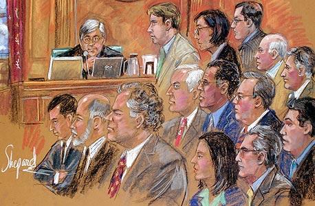 משפטו של אמיר מקוב, צילום: בלומברג