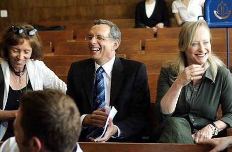 """רביד וזילברגר בבית המשפט. """"בפסיק היא לא הסכימה להודות"""", צילום: יריב כץ"""