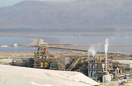 מפעל אשלג בים המלח