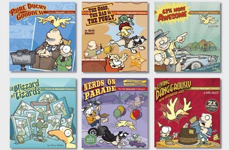 """ההצלחה של דייב: ספרי הקומיקס של """"שלדון"""""""