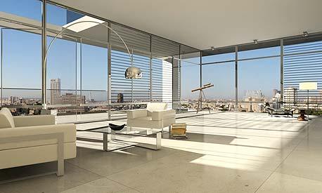הדמיה של דירה במגדל G