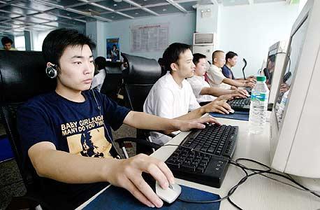 גולשי אינטרנט בסין. באסיה המעבר לשיטה החדשה כבר החל