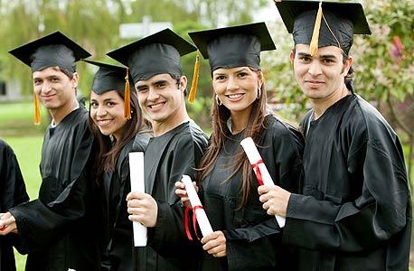 סטודנטים. ב-77% מהמקרים לומדים את מה שמעניין אותם