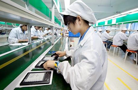 """עלות הייצור בסין עתידה להשתוות לעלות הייצור בארה""""ב עד 2015, צילום: אי פי אי"""
