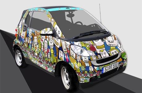 בחור חכם: ישראלי זכה בתחרות עיצוב של מכונית סמארט