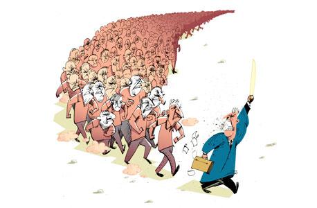 איפה ההמון הזועם?, צילום: עומר הופמן