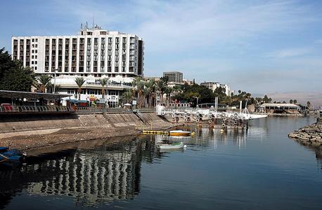 אזור המלונות בטבריה