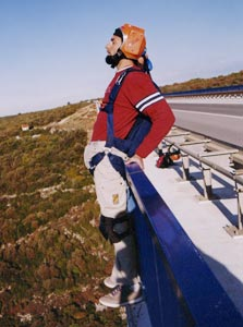 """ד""""ר אלון לירן קופץ מגשר בקרואטיה"""
