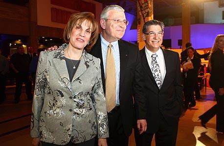 אירוע ה מנהיגים ה עסקיים של דן אנד ברדסטריט גליה מאור אלי יונס ראובן קובנט מוסף, צילום: אוראל כהן