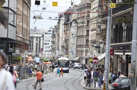ג'נבה, שוויץ. כבר 5 שנים ברציפות במקום הראשון
