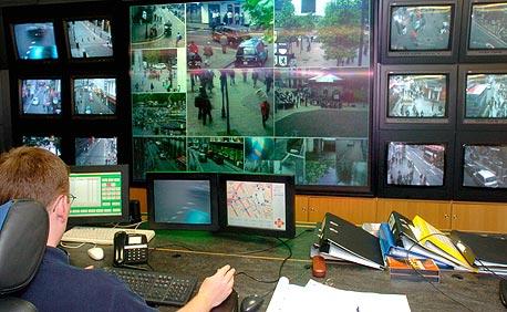 מרכז הבקרה של ה-CCTV