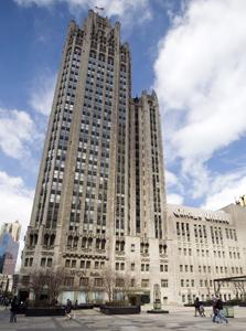 """בניין """"שיקגו טריביון"""". """"העיתון שעבדתי בו לא קיים יותר"""""""