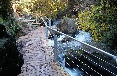 הגשר התלוי מעל הבניאס
