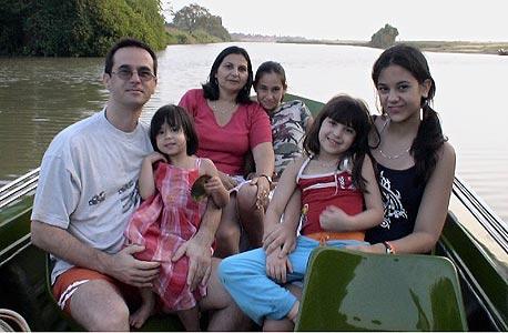 משפחת בן חיים בטיול משפחתי בסרי לנקה