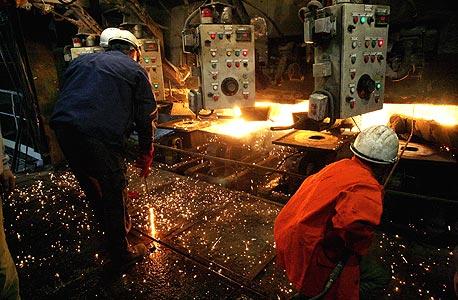 מפעל פלדה של חד אסף, צילום: גיל נחושתן