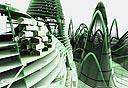 """""""גבעות סין"""", מבנה המיועד למאה אלף איש"""