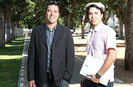ירון קרני (מימין) ואחיו גלעד. ימליצו על חברות ישראליות