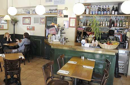 """טופולינו, אגריפס 26. מסעדה איטלקית חלבית המתבססת מדי יום על מרכיבים טריים מהשוק - """"מהבסטה לפסטה"""""""