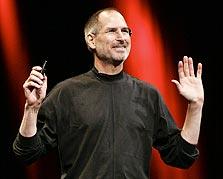 "מנכ""ל אפל סטיב ג'ובס. פיקוח צמוד על פיתוח הטאבלט"