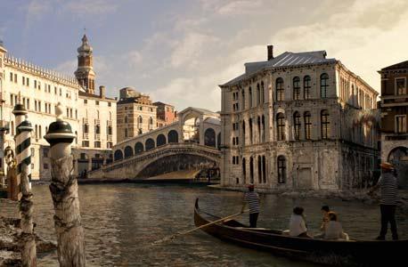 ונציה. מיליארדי יורו הושקעו בהגנה מפני הצפות