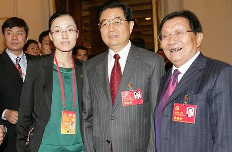 וו רנבאו עם נשיא סין בחואה שי