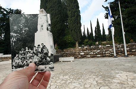1964, האריה השואג, תל חי. לומדים את ההיסטוריה דרך הרגליים, צילום: עמית שעל