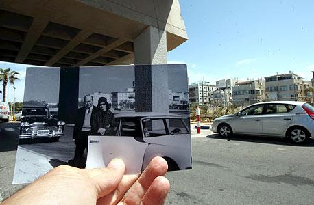 1967, מלון הילטון, תל אביב. זוג טרי בבוקר שאחרי החתונה , צילום: עמית שעל