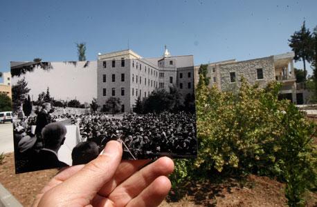 1950, טרה סאנטה, ירושלים. חגיגות 25 שנה לאוניברסיטה העברית, צילום: עמית שעל