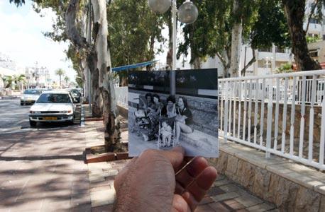 1977, שדרות הגעתון, נהריה. טיול משפחתי, צילום: עמית שעל