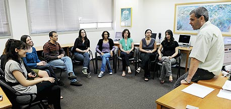 מבחן קבוצתי בפילת, צילום: יובל חן