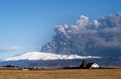 התפרצות הר הגעש הוולקני באיסלנד משפיעה על אירועי ספורט רבים