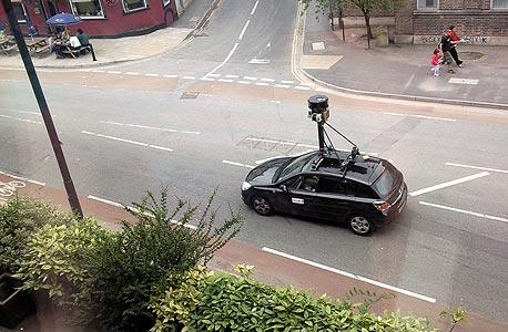 ניידת צילום של גוגל סטריט ויו