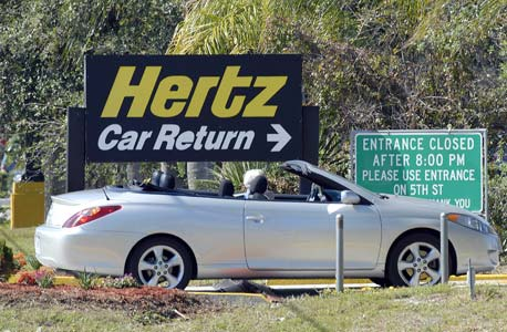 השכרת רכב hertz, צילום: בלומברג