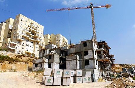 בנייה במודיעין עלית. סגר מלא יביא לקריסתן של 60% מחברות הבנייה  , צילום: יריב כץ