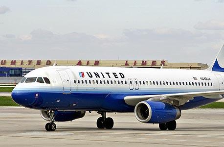 מטוס של יונייטד איירליינס