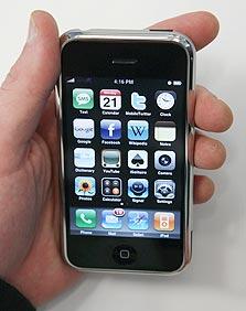 מסתער על שוק הסמארטפונים. אייפון
