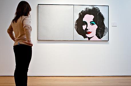 """""""סילבר ליז"""" של אנדי וורהול. למכירה ב-10-15 מיליון דולר, צילום: בלומברג"""