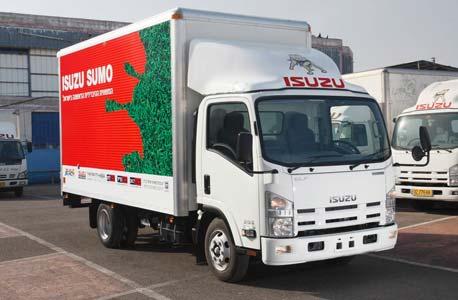 סנסציוני UTI מציגה: משאית איסוזו סומו היברידית BI-02