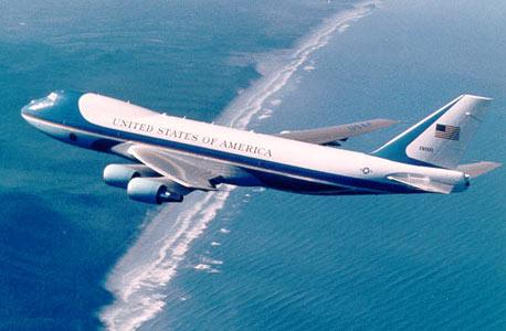 "מטוס אייר פורס וואן הנוכחי של נשיא ארה""ב , צילום: Boeing Photo"