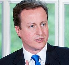 """ראש ממשלת בריטניה דיוויד קמרון. """"בריטניה קרובה לפרישה מהאיחוד"""""""