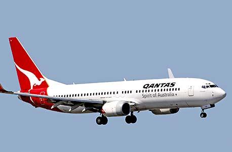 מטוס qantas
