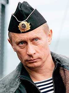 פוטין. כמו כל הרוסים, זוכר איך הצאר מכר את אלסקה בנזיד עדשים