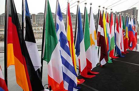 דגלי מדינות האיחוד האירופאי, צילום: בלומברג