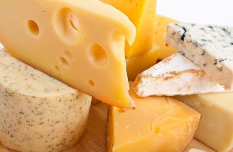 גבינות. מחירן באריזה יהיה נמוך ב-30% מהמחיר כיום