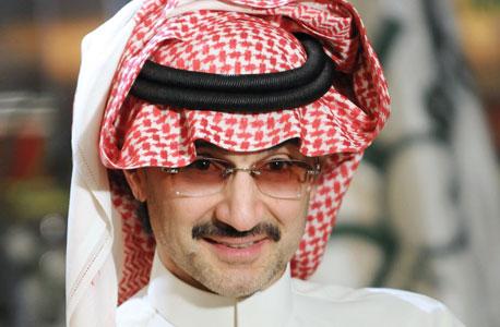 הנסיך הסעודי אלווליד בין טלאל. הערבי העשיר בעולם , צילום: בלומברג